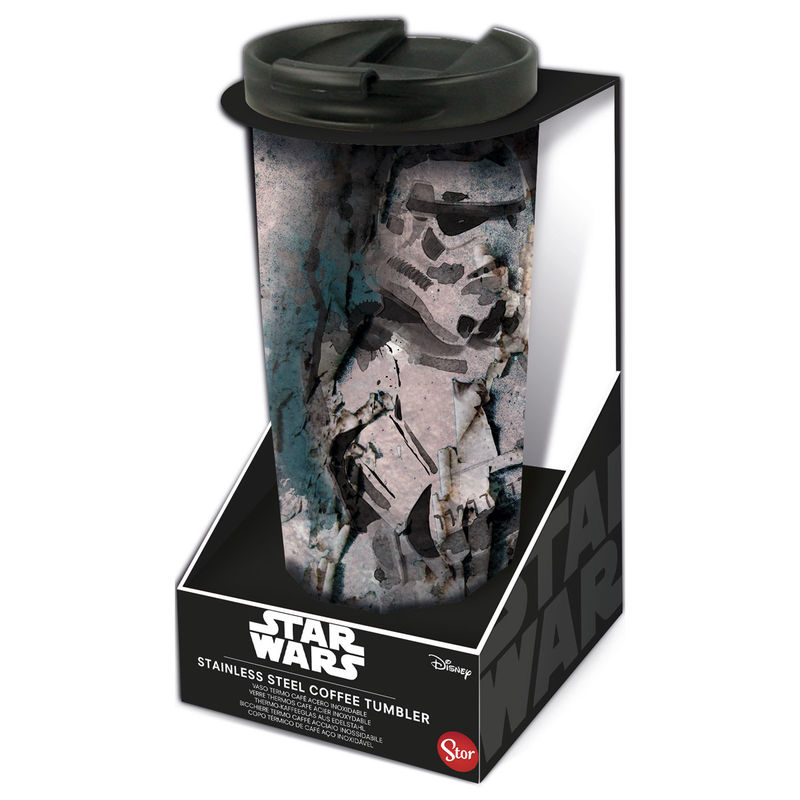 Photo du produit Verre thermos à café Star Wars en acier inoxydable