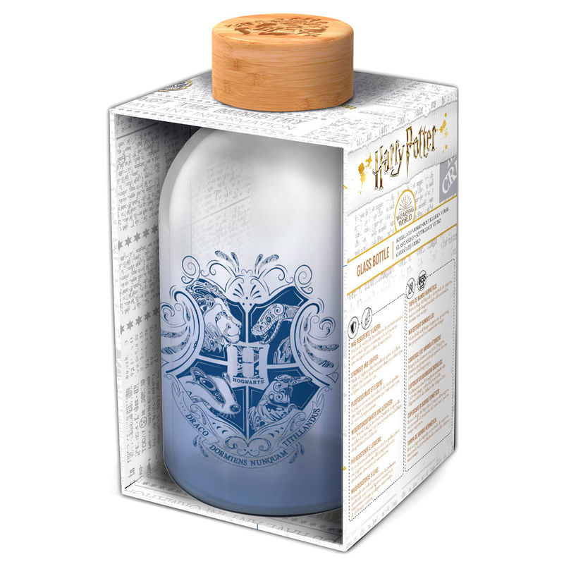 Photo du produit BOUTEILLE EN VERRE CRISTAL HARRY POTTER 620ML