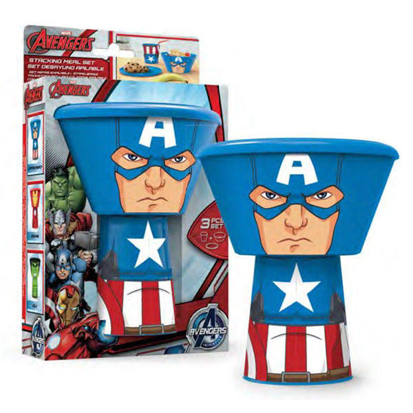 Photo du produit COFFRET DEJEUNER MARVEL CAPTAIN AMERICA EMPILABLE