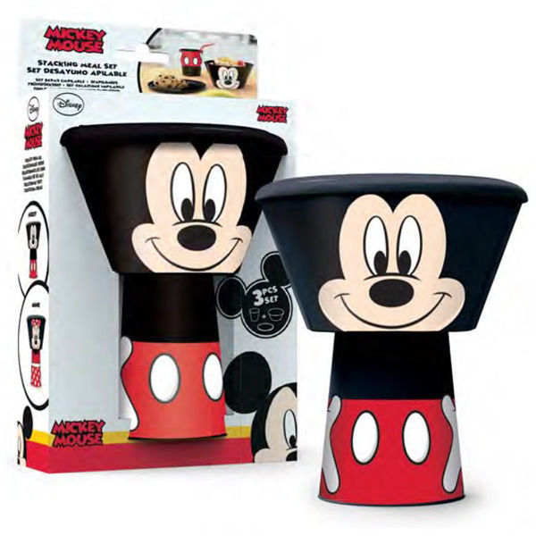 Photo du produit COFFRET DEJEUNER DISNEY MICKEY EMPILABLE