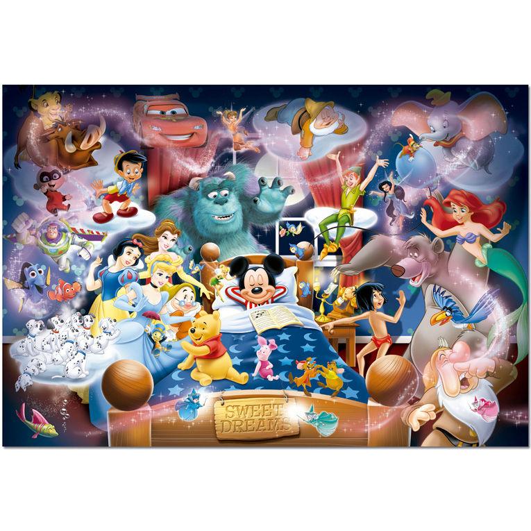 Photo du produit Puzzle Disney Rêve 1000 pièces