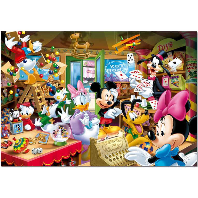 Photo du produit Puzzle Disney Magasin de jouets Noel 1000 pièces