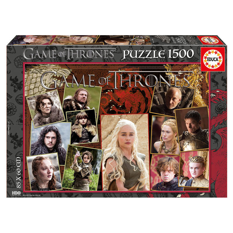 Photo du produit PUZZLE GAME OF THRONES 1500 PIECES