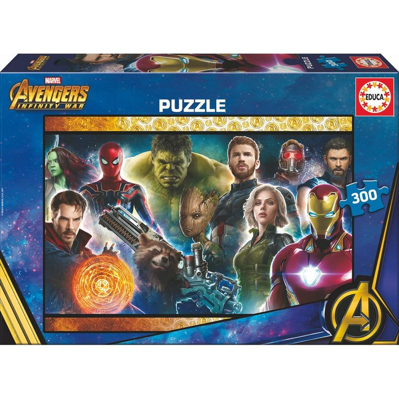 Photo du produit PUZZLE AVENGERS INFINITY WAR MARVEL 300 PIECES