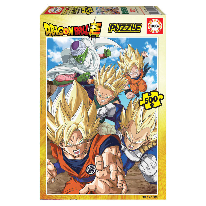 Photo du produit PUZZLE DRAGON BALL SUPER 500 PIECES