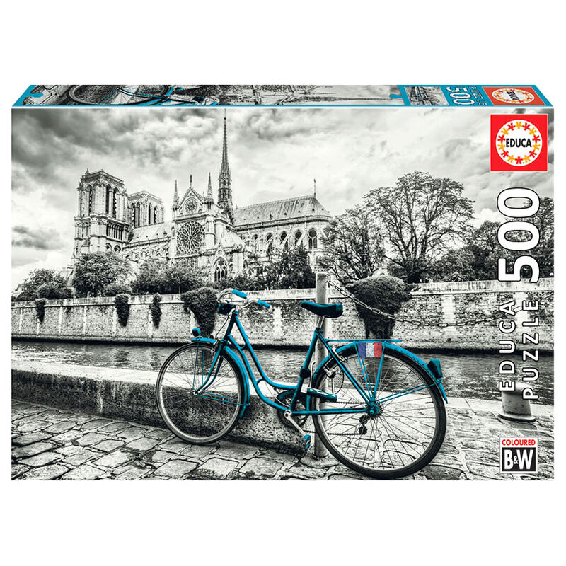 Photo du produit EDUCA PUZZLE PARIS NOTRE DAME 500 PIÈCES