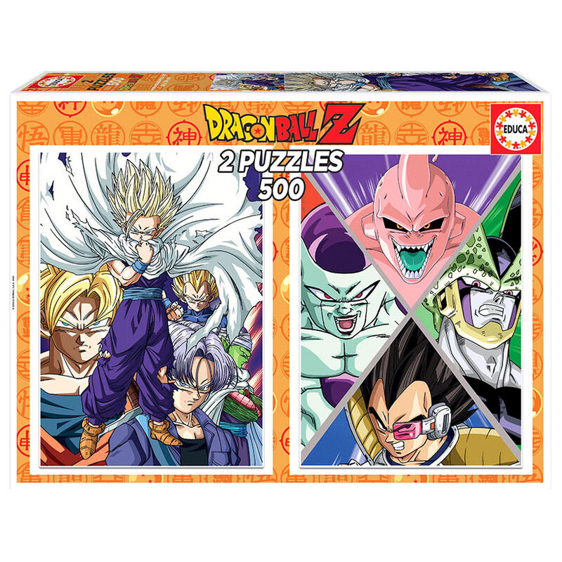 Photo du produit PUZZLE DRAGON BALL Z 2X500 PIÈCES