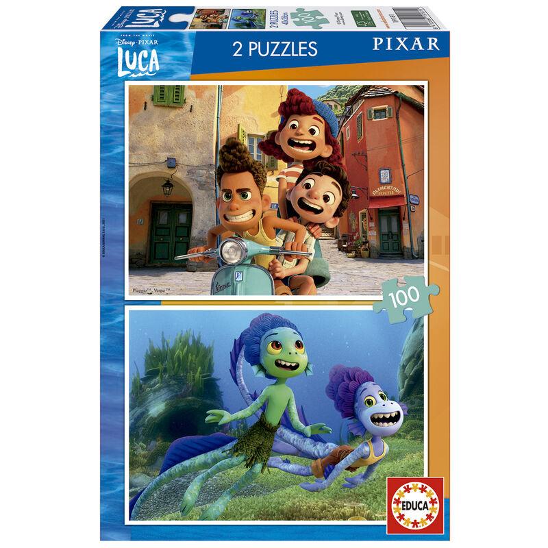 Photo du produit Puzzle Luca Disney 2x100 pièces