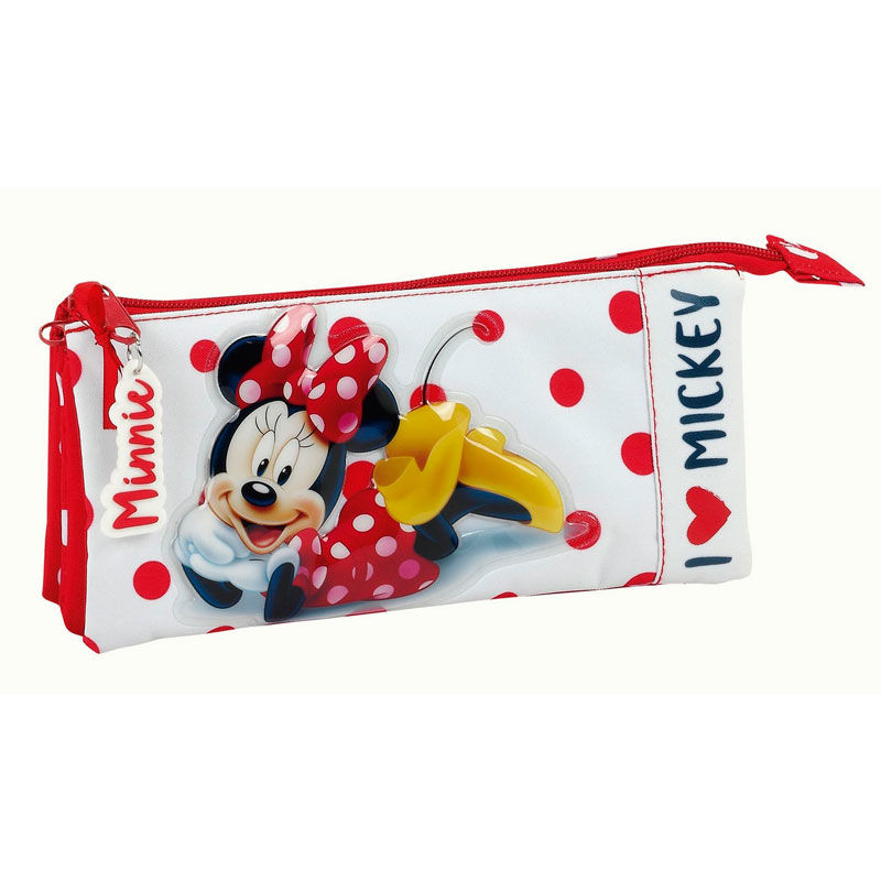 Photo du produit TROUSSE TRIPLE DISNEY MINNIE LOVE MICKEY