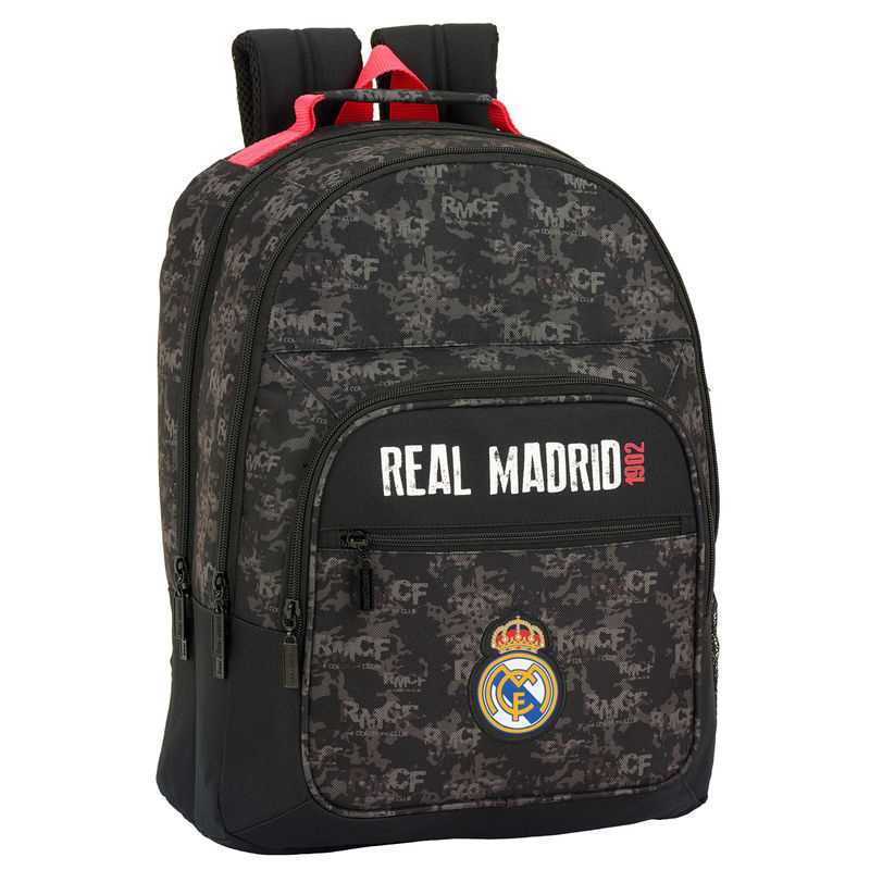 Photo du produit SAC A DOS REAL MADRID BLACK 42 CM