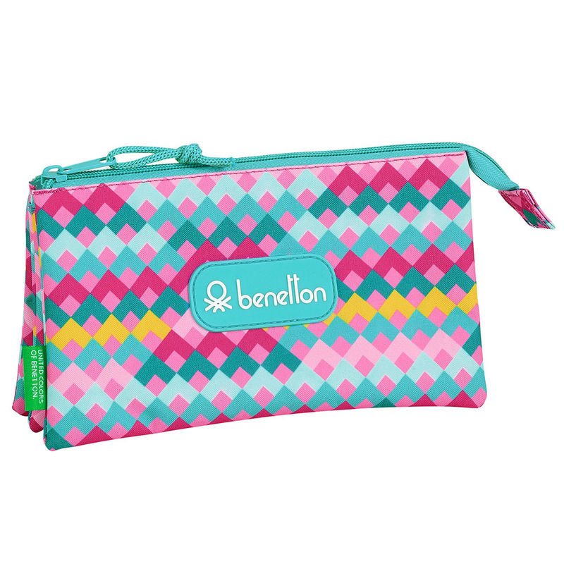 Photo du produit TROUSSE BENETTON ZIG ZAG TRIPLE