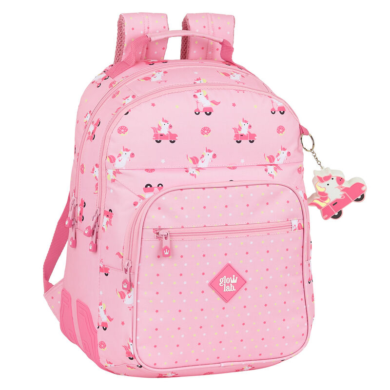 Photo du produit SAC A DOS GLOWLAB UNICORN DAY ADAPTABLE 42CM