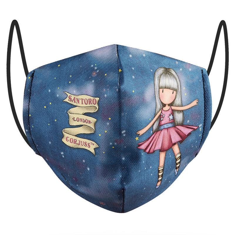 Photo du produit MASQUE RÉUTILISABLE DANCING AMONG THE STARS GORJUSS 10/12 ANS