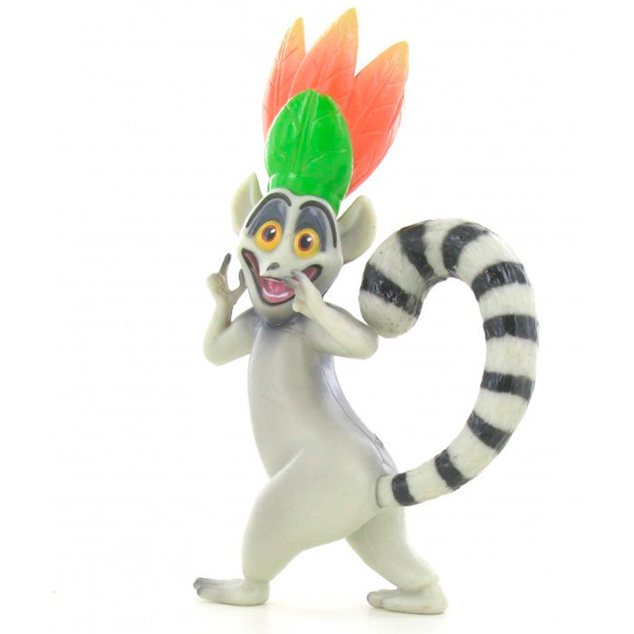 Photo du produit MADAGASCAR MINI FIGURINE KING JULIEN 8 CM