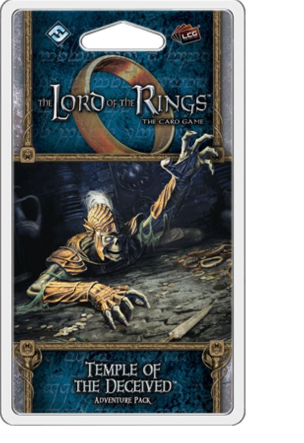 Photo du produit LORD OF THE RINGS TEMPLE OF THE DECEIVED ADVENTURE PACK (ANGLAIS)