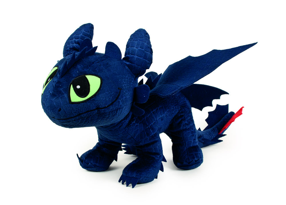 Photo du produit PELUCHE DRAGONS KROKMOU 26 CM