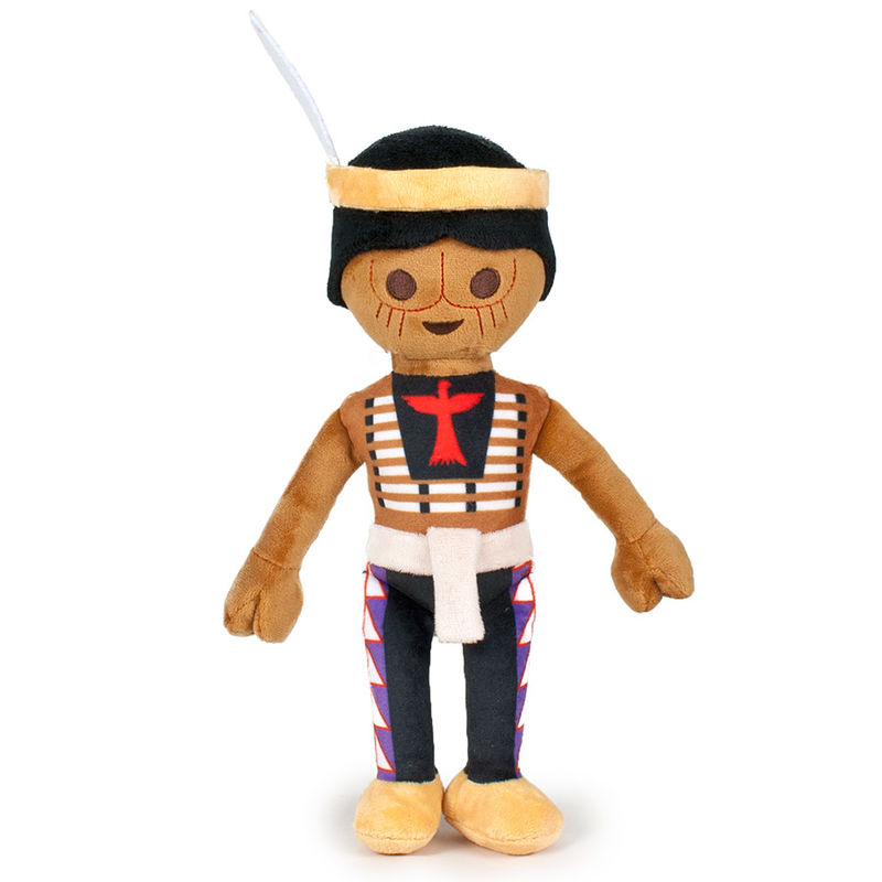 Photo du produit PELUCHE PLAYMOBIL INDIEN 33CM