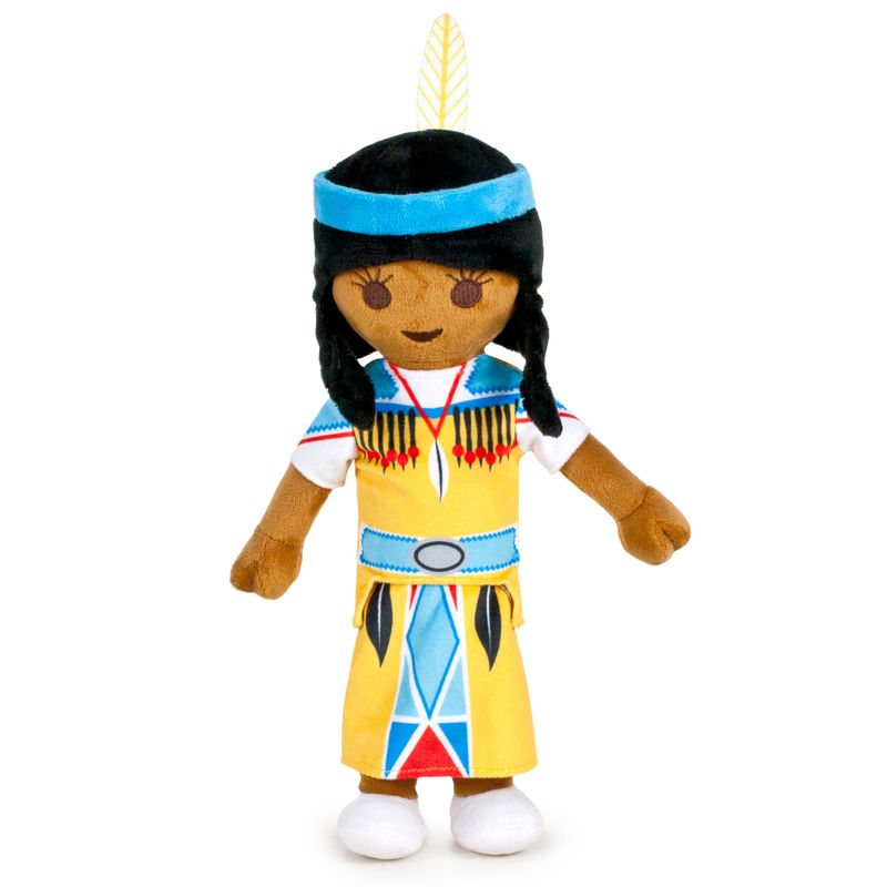 Photo du produit PELUCHE PLAYMOBIL INDIENNE 33 CM