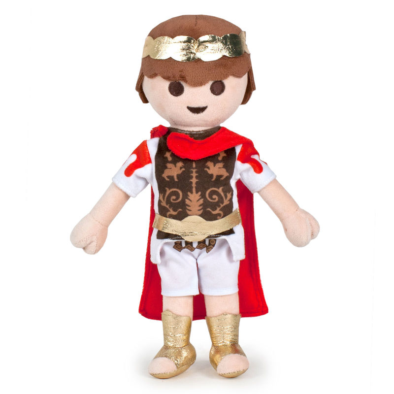 Photo du produit PELUCHE PLAYMOBIL ROMAIN 32 CM