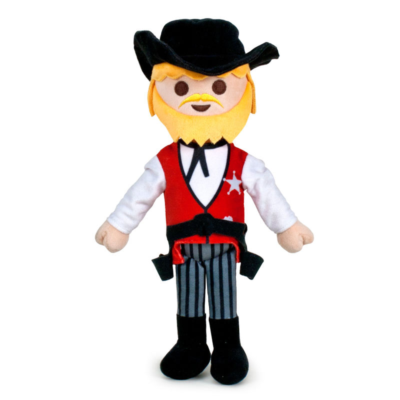 Photo du produit PELUCHE PLAYMOBIL SHERIFF 32 CM