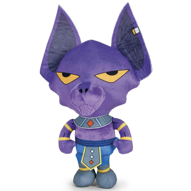 Photo du produit PELUCHE DRAGON BALL Z BEERUS 25 CM