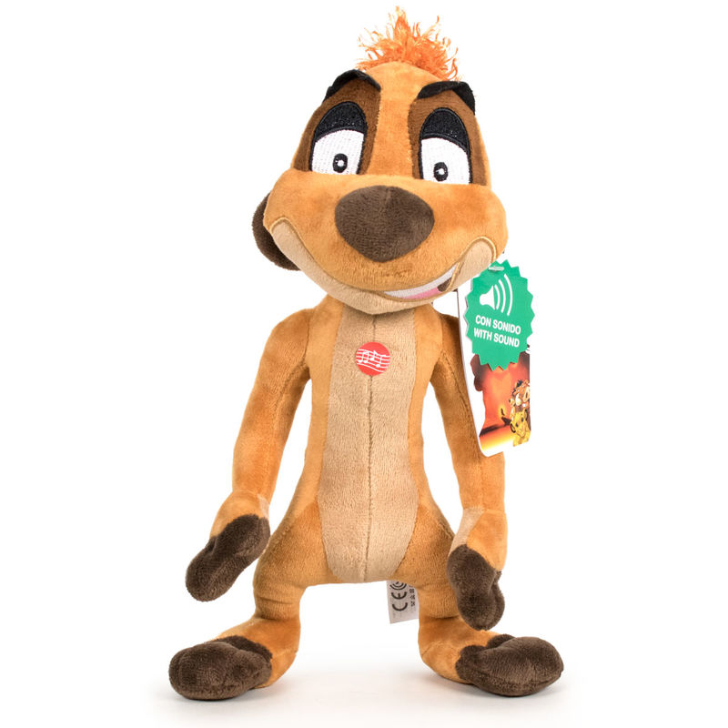 Photo du produit DISNEY PELUCHE TIMON LE ROI LION 30 cm