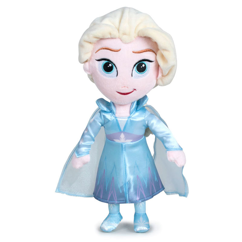 Photo du produit PELUCHE ELSA 30CM DISNEY LA REINE DES NEIGES 2