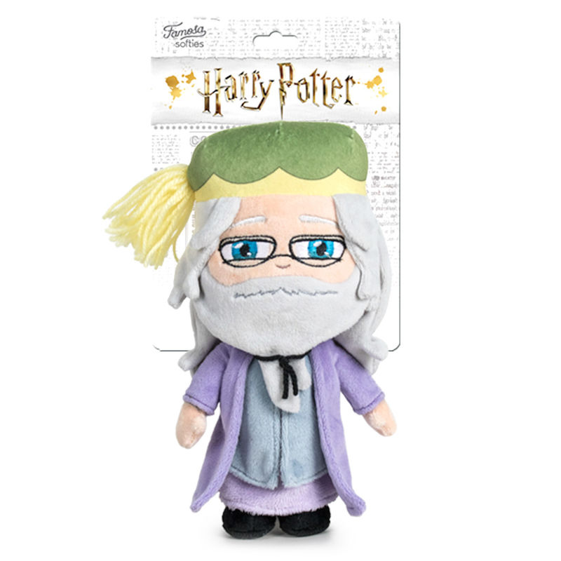 Photo du produit PELUCHE ALBUS DUMBLEDORE HARRY POTTER 29 CM