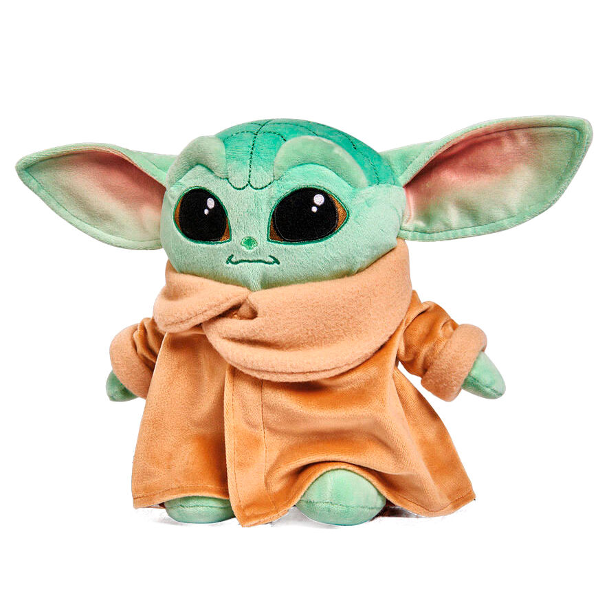 Photo du produit PELUCHE BABY YODA CHILD MANDALORIAN STAR WARS DOUCE 25CM