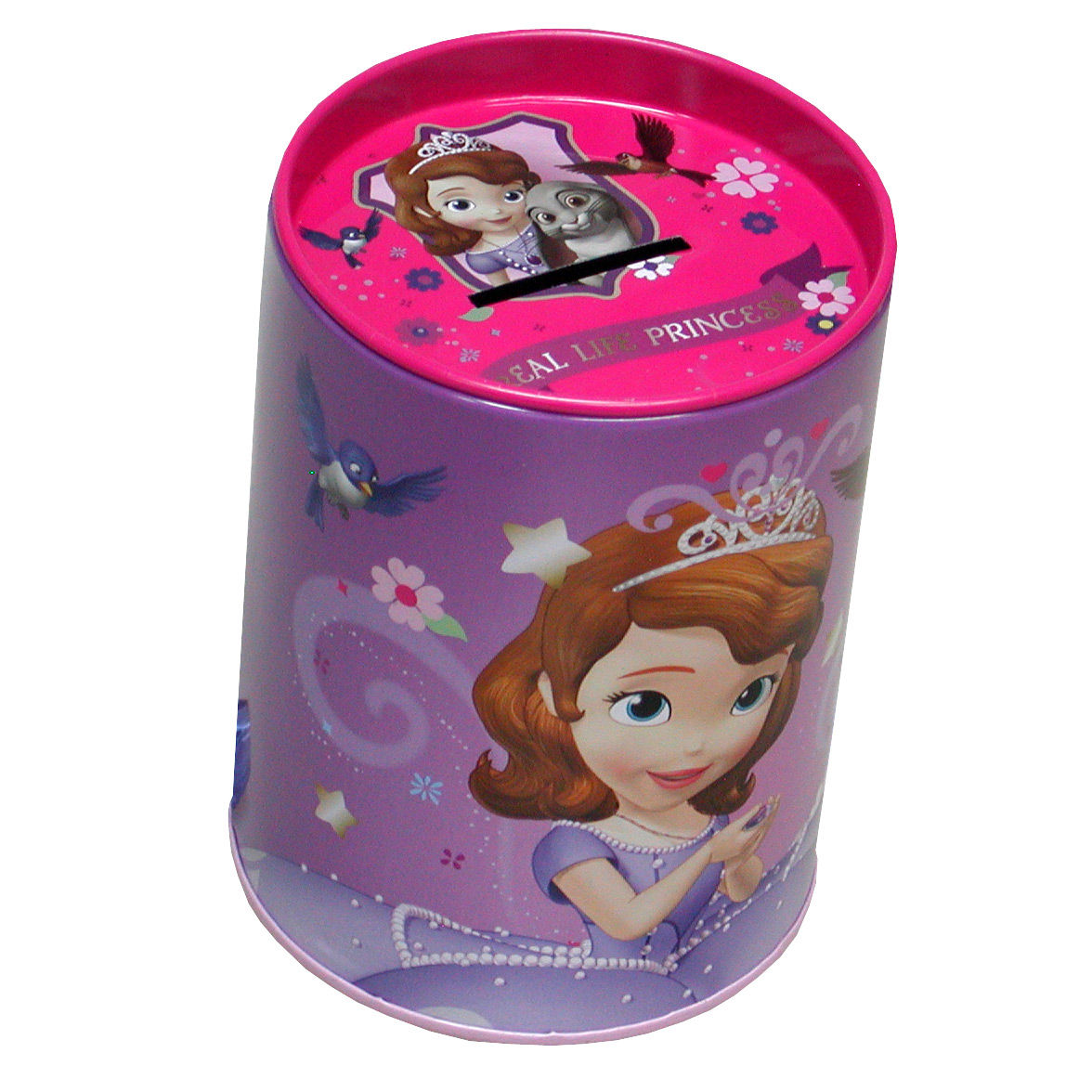Photo du produit Tirelire métallique Princesse Sofia Disney