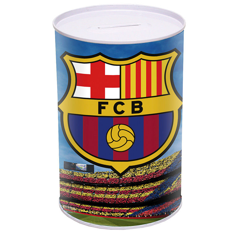 Photo du produit TIRELIRE METALLIQUE FC BARCELONE