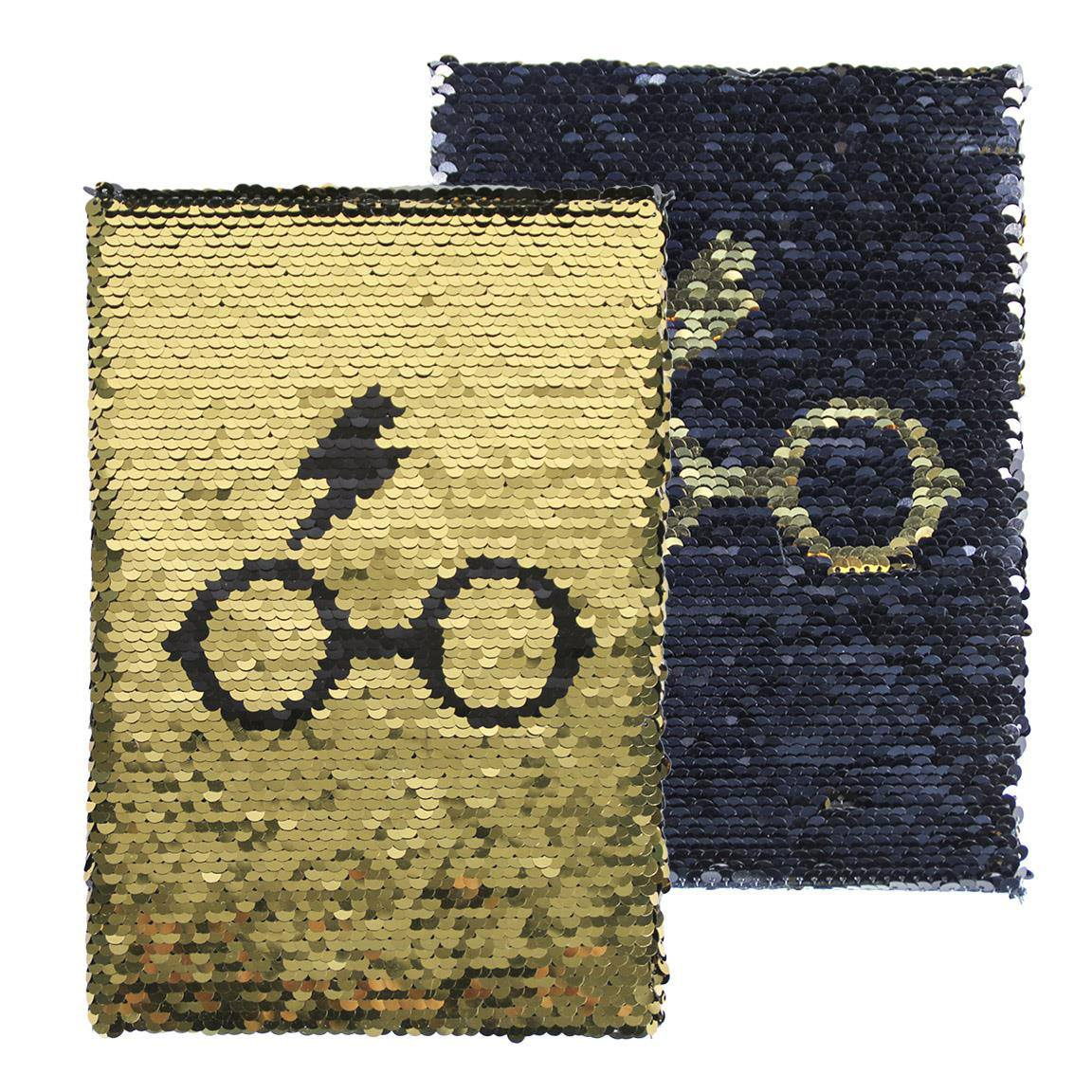 Photo du produit HARRY POTTER CARNET DE NOTES PAILLETTES PREMIUM A5 HARRY