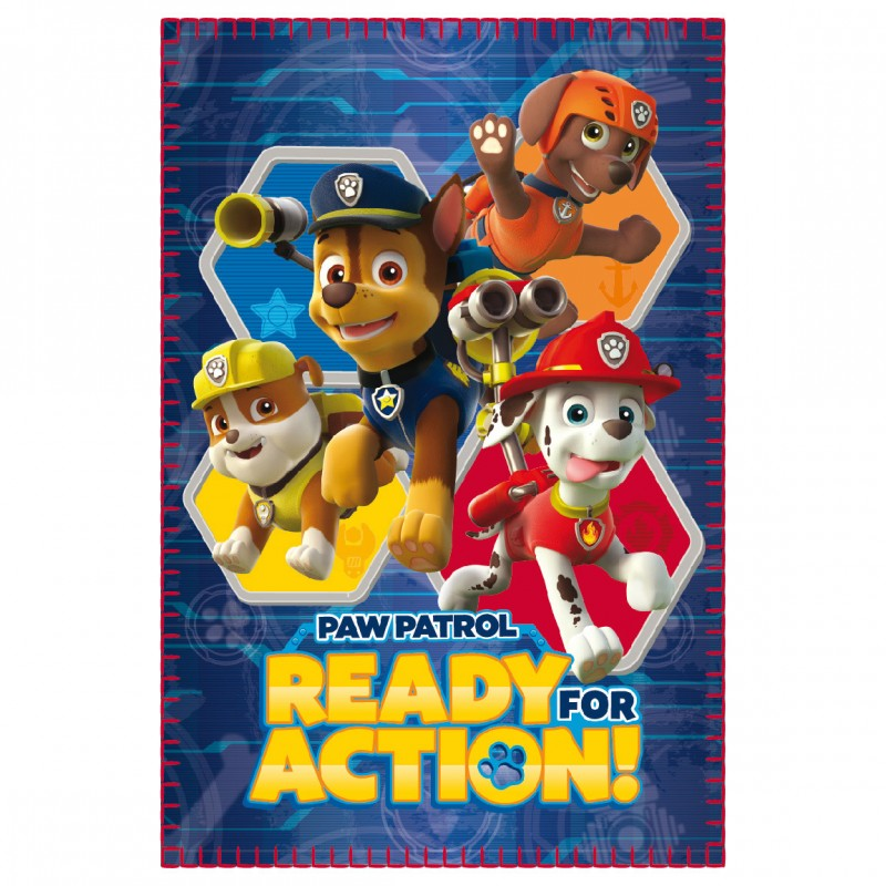 Photo du produit LA PAT PATROUILLE PLAID PAW PATROL READY FOR ACTION