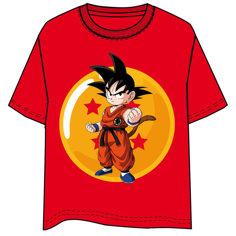 Photo du produit T-SHIRT DRAGON BALL GOKU ENFANT