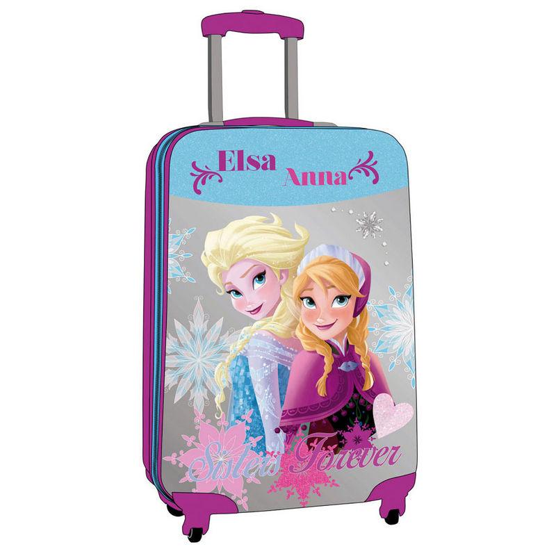 valise trolley reine des neiges abs sisters 67 cm. Black Bedroom Furniture Sets. Home Design Ideas