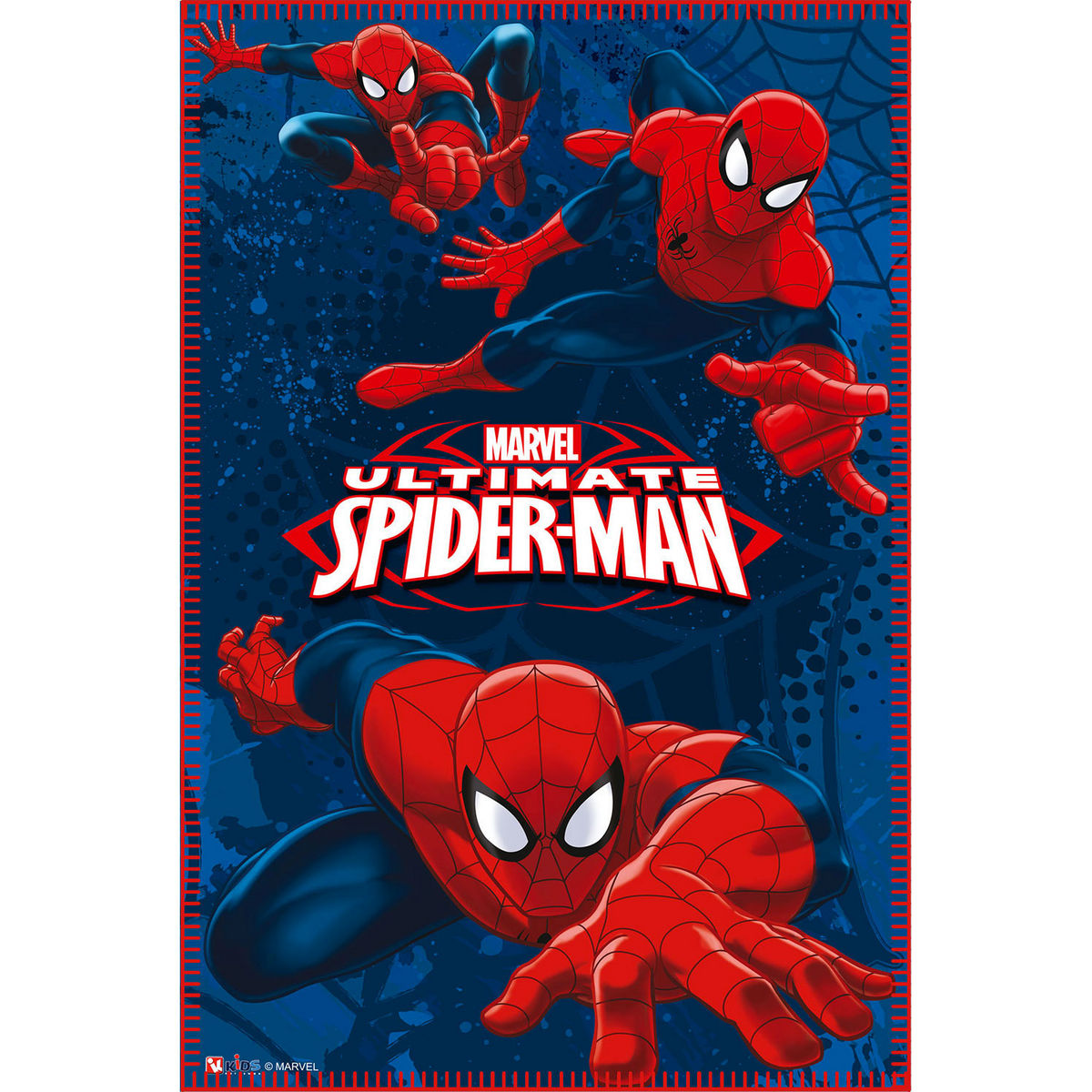 Photo du produit Couverture polaire Spiderman Marvel Action