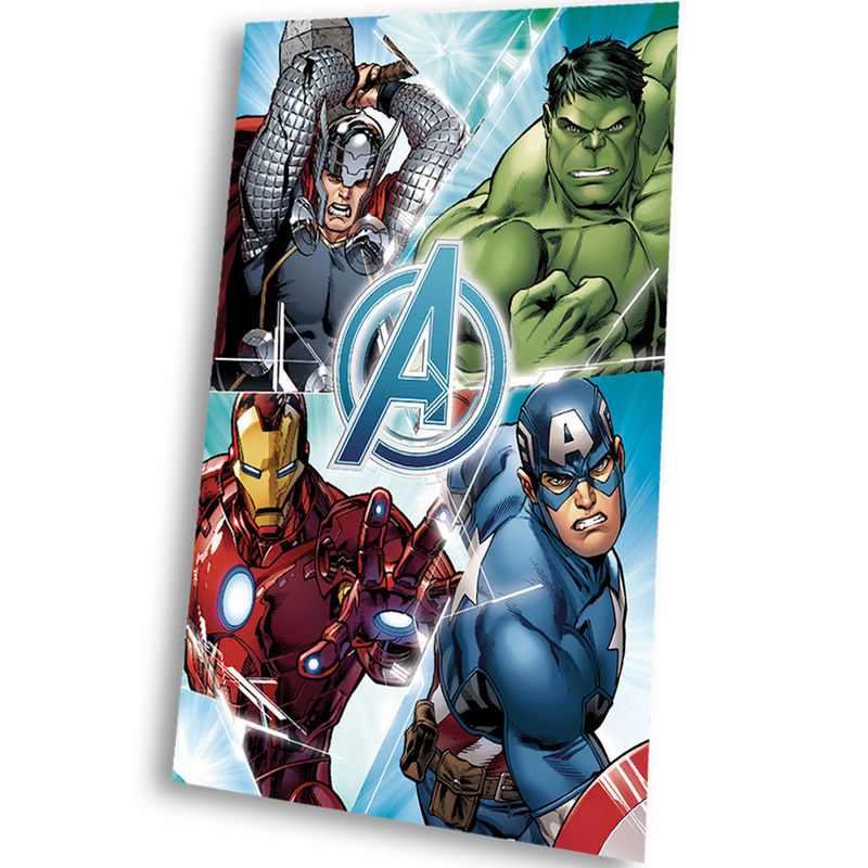 Photo du produit COUVERTURE POLAIRE MARVEL THE AVENGERS