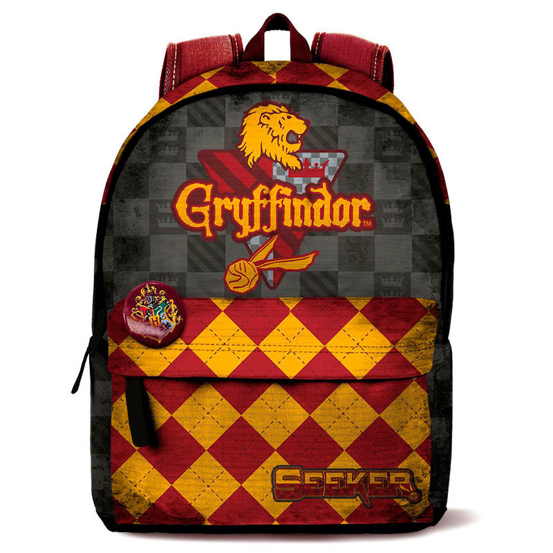 Photo du produit SAC A DOS HARRY POTTER QUIDDITCH GRYFFINDOR 42CM