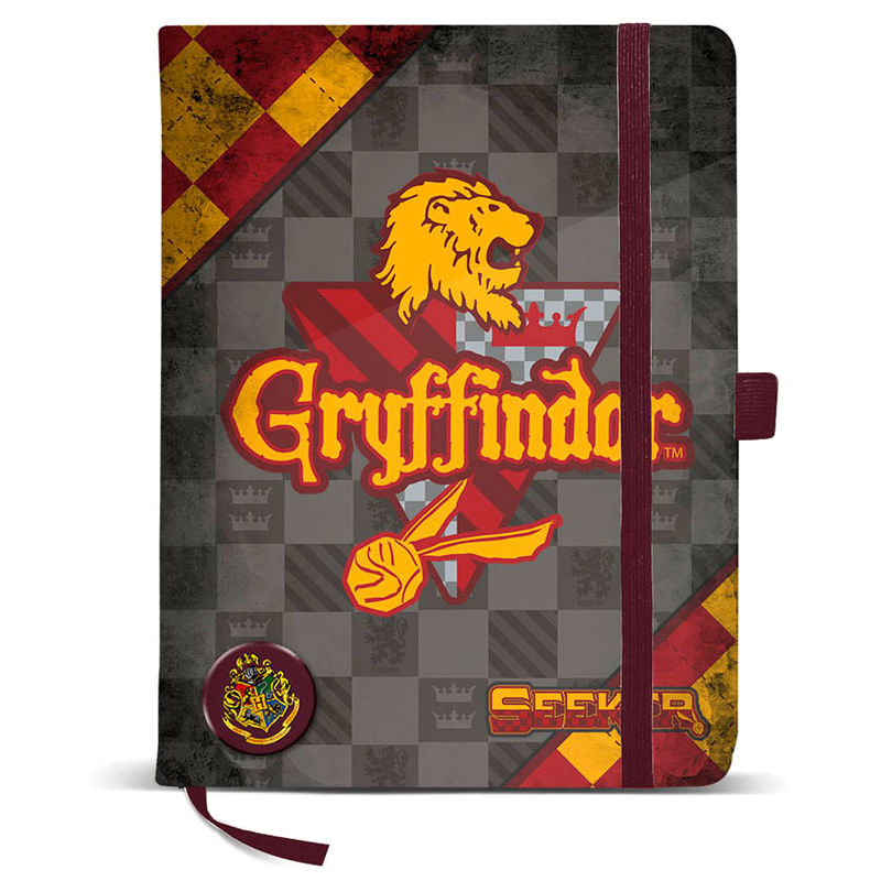 Photo du produit CARNET HARRY POTTER QUIDDITCH GRYFFINDOR