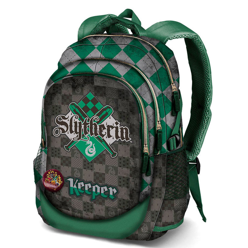 Photo du produit SAC A DOS HARRY POTTER QUIDDITCH SLYTHERIN 44CM