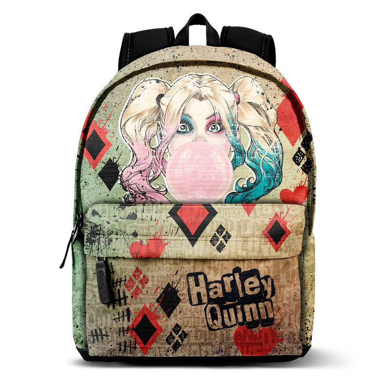 Photo du produit SAC A DOS HARLEY QUINN DC COMICS MAD LOVE 42CM