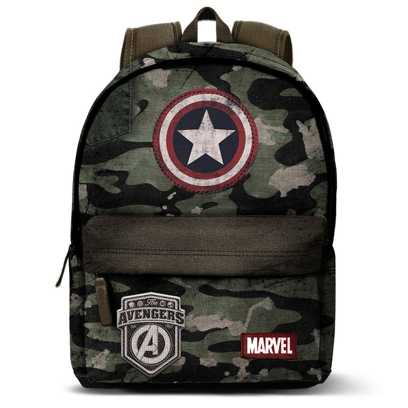 Photo du produit SAC À DOS CAPITAN AMERICA ARMY MARVEL 42CM