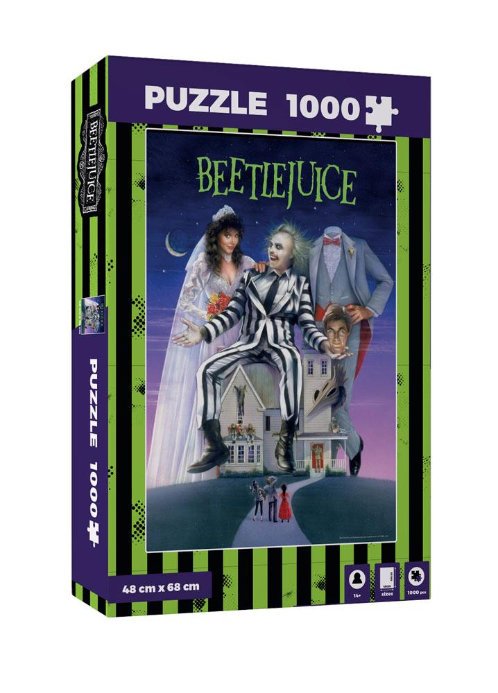 Photo du produit PUZZLE MOVIE POSTER BEETLEJUICE 1000 PIECES