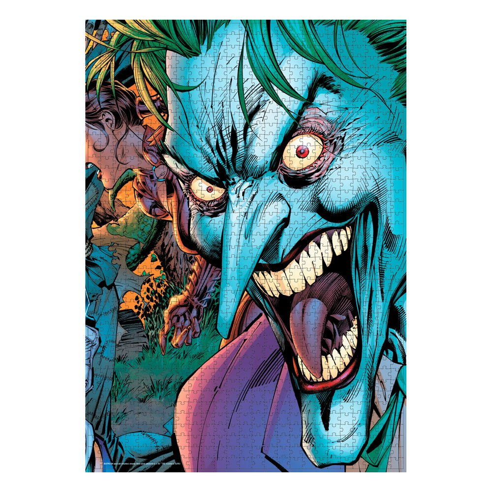 Photo du produit DC COMICS PUZZLE JOKER CRAZY EYES