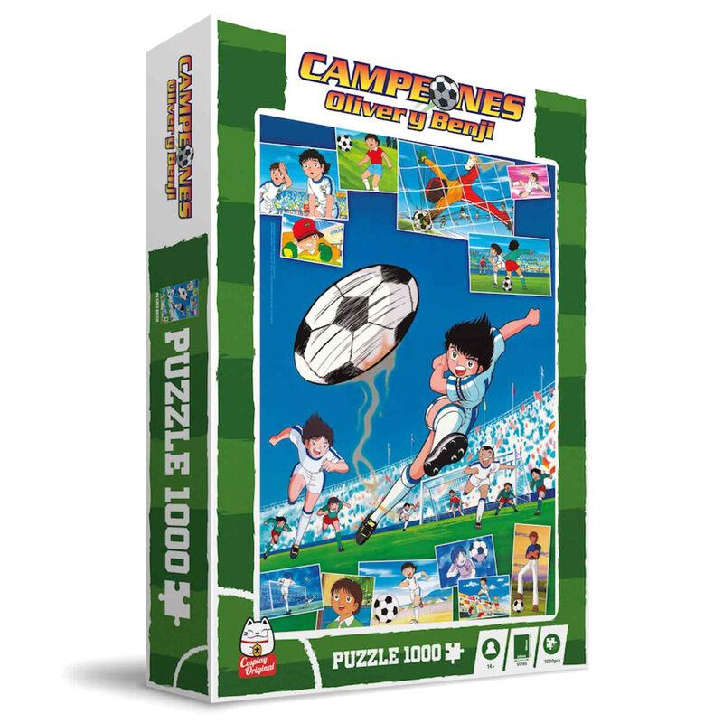 Photo du produit PUZZLE NEW PIE VS SAINT FRANCIS OLIVE ET TOM 1000 PIÈCES