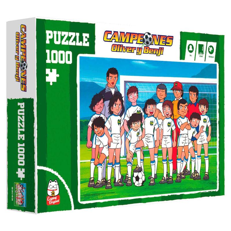 Photo du produit Puzzle Olive et Tom équipe championne 1000 pièces