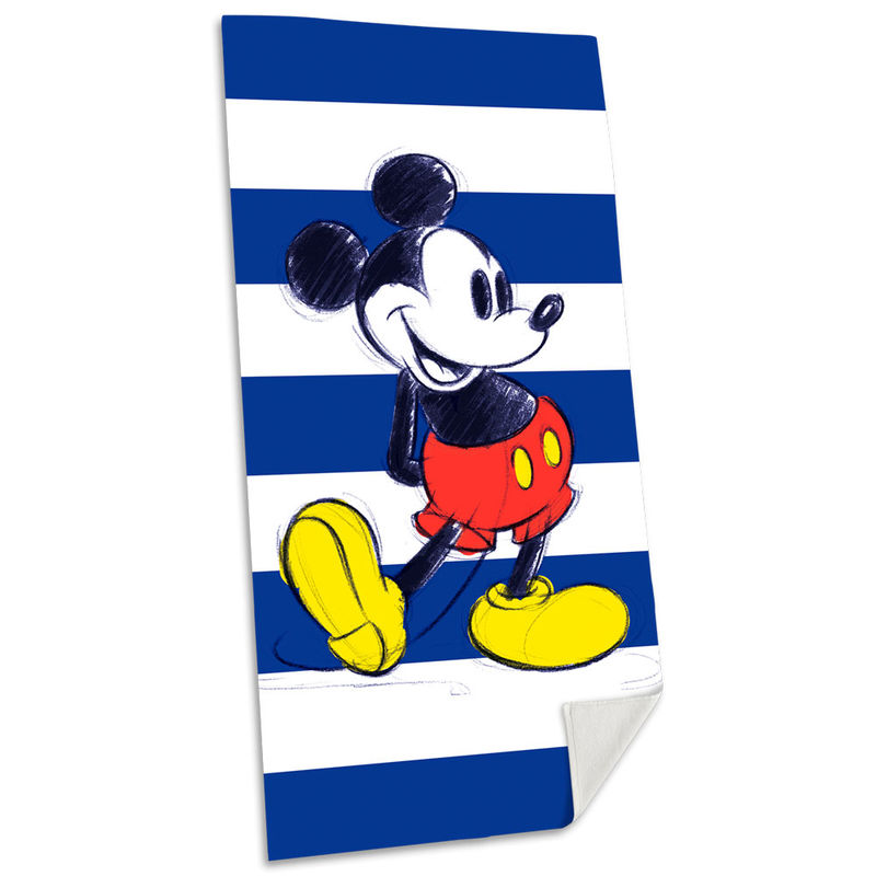 Photo du produit SERVIETTE DE BAIN MICKEY DISNEY EN COTON