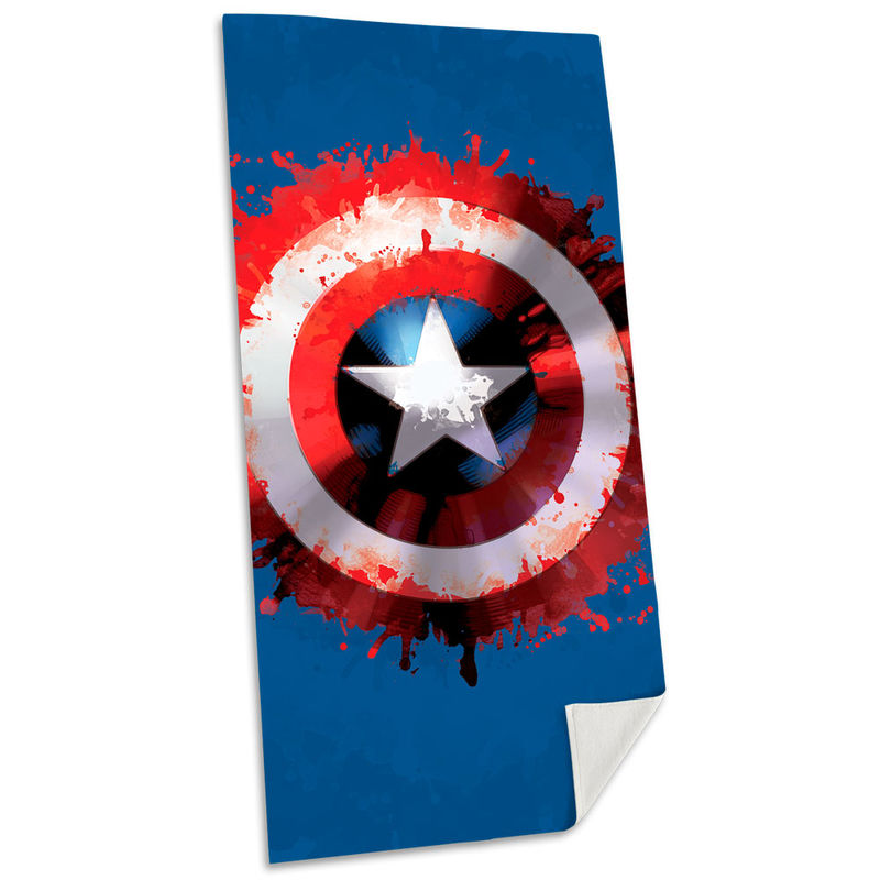 Photo du produit SERVIETTE DE BAIN CAPTAIN AMERICA MARVEL EN COTON