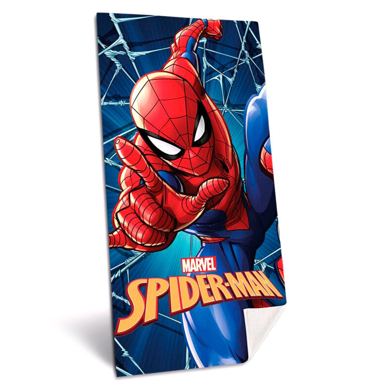 Photo du produit SERVIETTE DE BAIN MARVEL SPIDERMAN MICROFIBRE