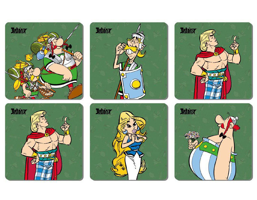 Photo du produit ASTERIX PACK 6 SOUS-VERRES THE LEGIONARY